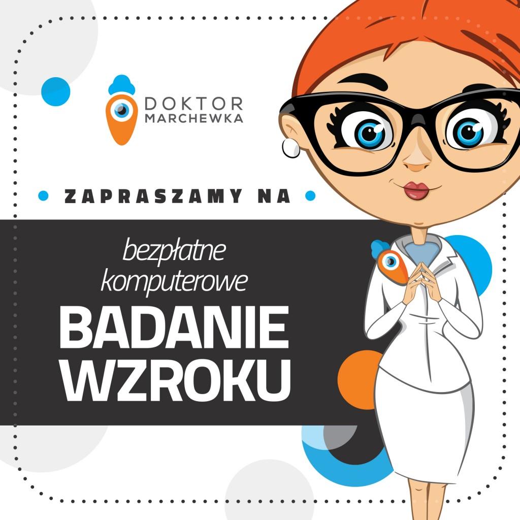 na FB zaproszenia nabadania- Doktor Marchewka